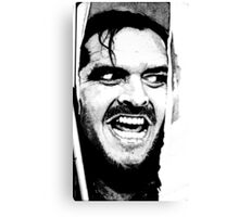 Here 's Johnny ! Canvas Print