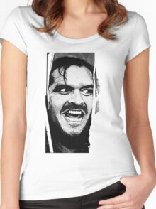 Here 's Johnny ! Women's Fitted Scoop T-Shirt