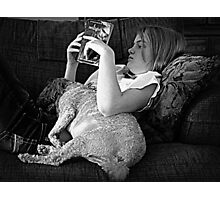 Bedtime Story Photographic Print