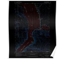 USGS Topo Map Washington State WA Wallula 244520 1964 24000 Inverted Poster