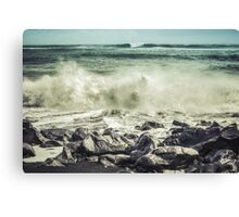 Two Waves Canvas Print