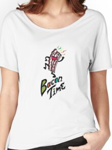 Bacon Time Women's Relaxed Fit T-Shirt