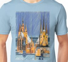 Weihnachten am Dom zu Erfurt Unisex T-Shirt
