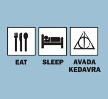 Eat Sleep Avada Kedavra by ScottW93