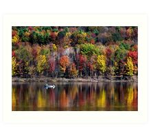 Autumn Landscape Art Print
