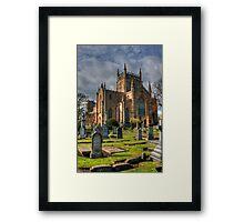 New Abbey Church Framed Print