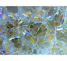 Bubbles....OR....Cubes???? Photographic Print