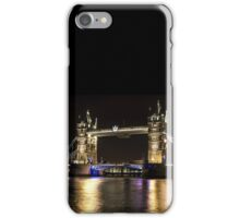 Tower Bridge London on the River Thames iPhone Case/Skin
