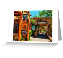 Patio Market Greeting Card