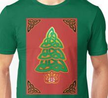 Celtic Christmas Tree (full) Unisex T-Shirt