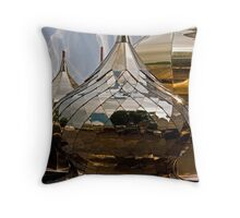 Steaming Onions Throw Pillow