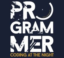 programmer - coding at the night by dmcloth