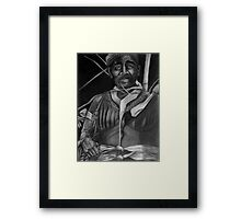 Local Medicine Man - Yap Islands, Micronesia Framed Print