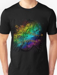 Beyond infinity-Time machine Unisex T-Shirt