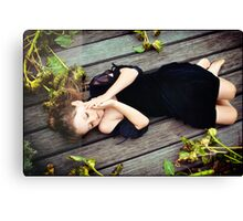 inner dance Canvas Print