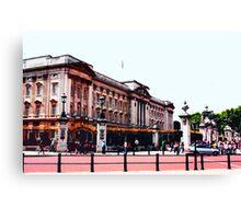 Buckingham Palace, London Canvas Print