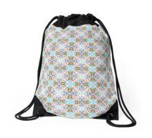 Decorative Colorful Pattern Drawstring Bag