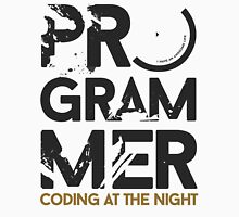 programmer - coding at the night Unisex T-Shirt