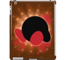 Super Smash Bros. Orange Kirby Silhouette iPad Case/Skin