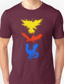 Legendary Bird Splatter Unisex T-Shirt