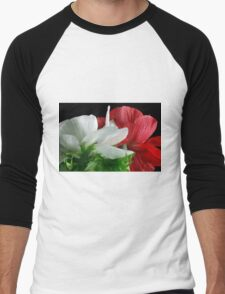 Snow White & Rose Red Men's Baseball ¾ T-Shirt