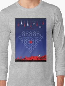 Diamonds Are Forever - Movie Poster Long Sleeve T-Shirt