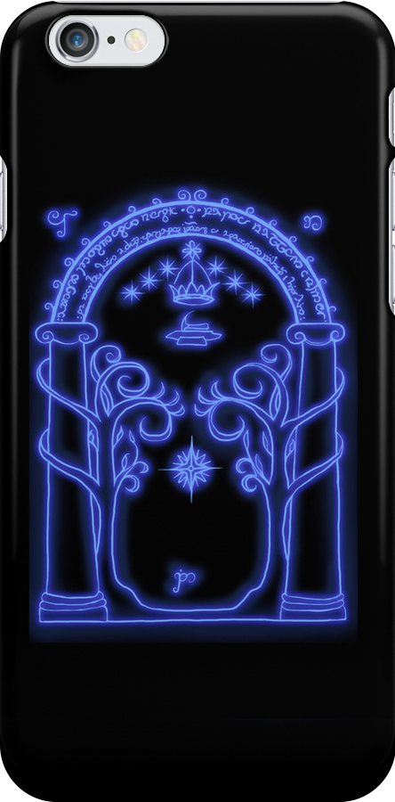 Moria Iphone case by Shelbeawest