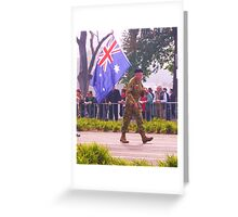 Anzac Day Melbourne Greeting Card
