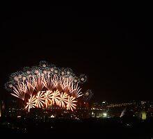 NYE 2012 Sydney Harbour by Darren Moses