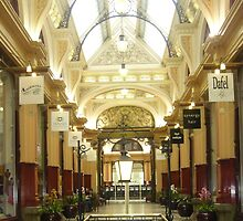 City Arcade in Melbourne by Leigh Kerr