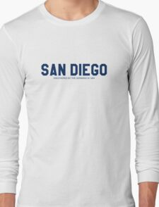 Anchorman - Ron Burgundy - San Diego 1904 Long Sleeve T-Shirt