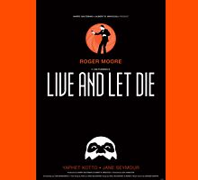Live and Let Die - Movie Poster Unisex T-Shirt