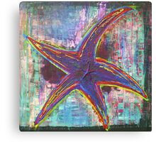Lone Starfish Canvas Print
