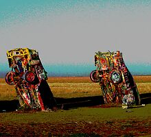 Cadillac Ranch by Melanie Roelofs