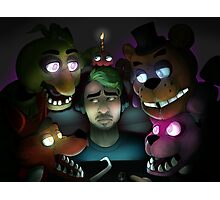 FNAF: Jacksepticeye's Turn Photographic Print