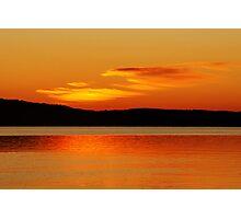 Sunset in Boyne, MI Photographic Print