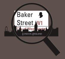 Baker Street Magnifier  One Piece - Short Sleeve