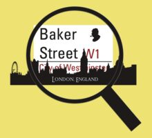 Baker Street Magnifier  One Piece - Short Sleeve