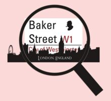 Baker Street Magnifier  One Piece - Long Sleeve