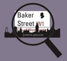 Baker Street Magnifier  Kids Tee