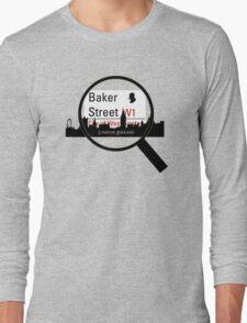 Baker Street Magnifier  Long Sleeve T-Shirt