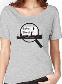 Baker Street Magnifier  Women's Relaxed Fit T-Shirt