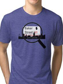 Baker Street Magnifier  Tri-blend T-Shirt