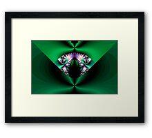 Big Green Cat Framed Print