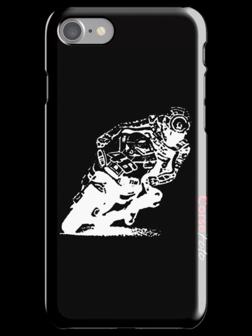 Valentino Rossi iPhone Case by corsefoto