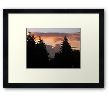 Today I woke up to a beautiful day 1 Framed Print