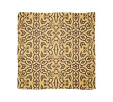 kaleidoscopic picture of something like an Arabic pattern Scarf
