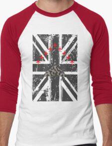 Vulcan and Red Arrows Men's Baseball ¾ T-Shirt