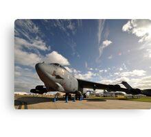 "B52 ""The Last Laugh"",Avalon Airshow,Australia 2015 Canvas Print"