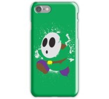 Splattery Shy Guy Style 2 iPhone Case/Skin